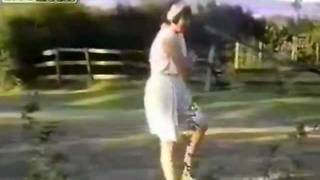 :: Very funny Drunk old lady with balance issues ! ::