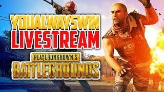 Playerunknown's Battlegrounds Live 💀 YAW Live Stream (Apr 20, 2017)