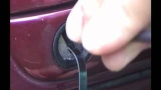 Pick Car Door Using Jigger Pick