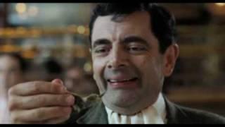 Mr. Bean at a Restaurant