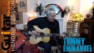 Gi Hendrix Session | Tommy Emmanuel Performs Purple Haze Inside Jimi Hendrix