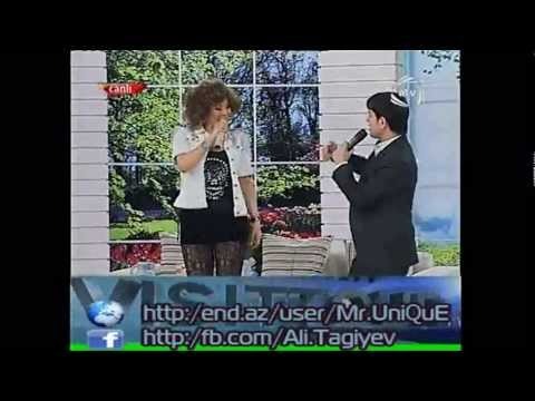 Aygun Kazimova ft Uzeyir Mehdizade Qoy Hami Bizden Danishsin HD 2012