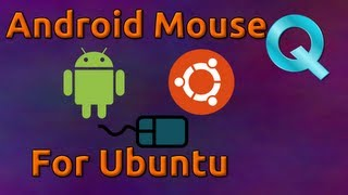 Droidpad for Ubuntu - Control your Mouse from Android