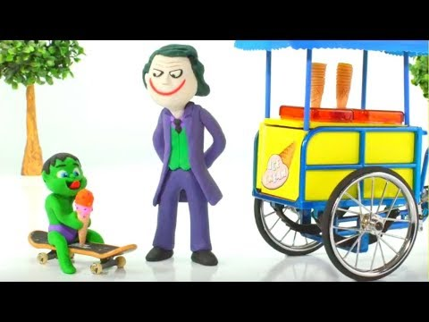 Xxx Mp4 JOKER FROZEN ELSA S ICE CREAM PARLOR ❤ Spiderman Hulk Frozen Elsa Play Doh Cartoons For Kids 3gp Sex