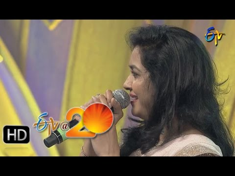 Xxx Mp4 Sunitha Krishna Chaitanya Performance Egiripothe Entha Song In Gunturu ETV 20 Celebrations 3gp Sex