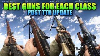 Battlefield 1 Best Guns For Each Class - Post TTK Update