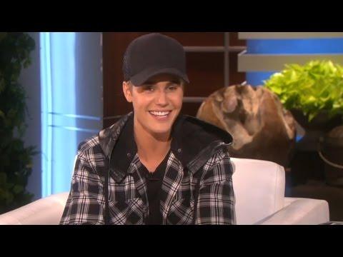 Justin Bieber Talks Selena & His Butt with Ellen Degeneres