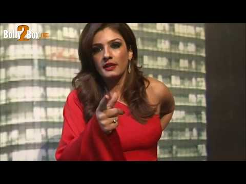 Sexy Raveena Tandon Abusing Media
