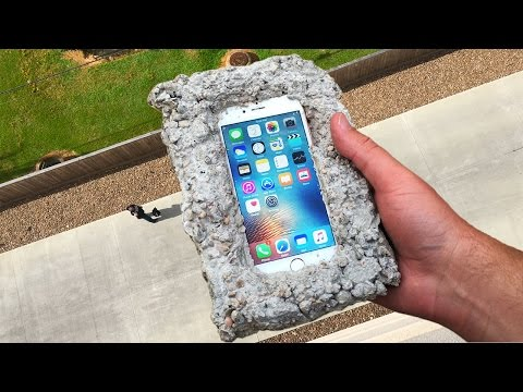 Xxx Mp4 Can Concrete Protect IPhone 6s From 100 FT Drop Test GizmoSlip 3gp Sex
