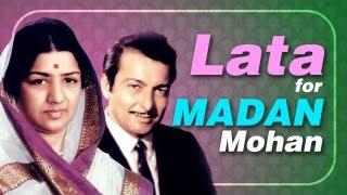 Lata Mangeshkar for Madan Mohan (HD) -Jukebox - Top 10 Lata songs for Music Director Madan Mohan