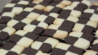 체크쿠키 / checkerboard cookies / 체스쿠키 / 베이킹 / baking : 하레