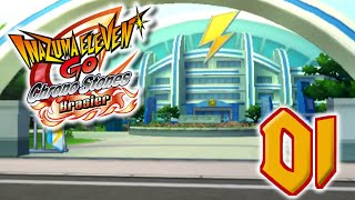 Let's Play Inazuma Eleven Go Chrono Stones Brasier FR #1 - Le football à disparu