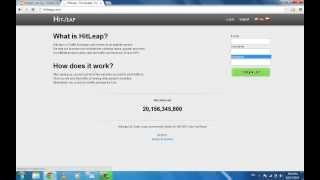 الحلقة:4 كيفية التسجيل مع موقع hitleap وكسب الاف الزوار+طريقة ربح المال منه