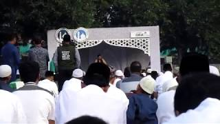 Khutbah 'Idul Fitri 1438 H (Lengkap) KH. Bachtiar Nasir, Lc., MM di Area Masjid Agung Al Azhar
