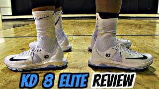 Nike KD 8 Elite Performance Review!
