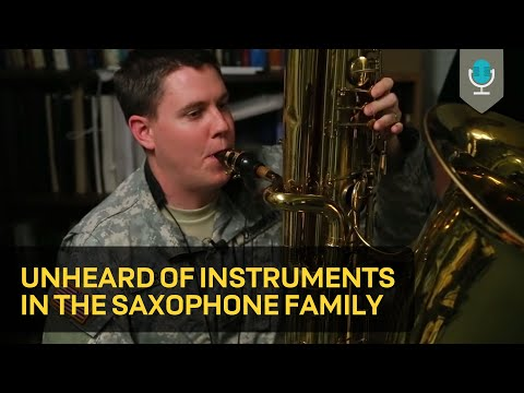 Xxx Mp4 Unheard Of Instruments In The Saxophone Family 3gp Sex