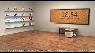 How To Make 3d Desktop Screen In Windows 7/8/8.1/10 | Bangla Tutorial |