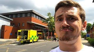 I've finally gone to Hospital..