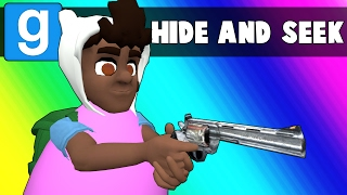 Gmod Hide and Seek Funny Moments - Egg-xcruciating Pun Edition! (Garry