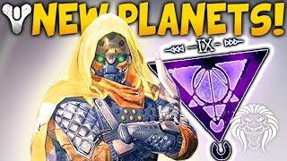 Destiny 2: NEW PLANETS & ENEMIES! 4th Subclass Element, Secret Myriad & Dreadnaught Returns