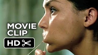 Ouija Movie CLIP - Flossing (2014) - Olivia Cooke, Daren Kagasoff Horror Movie HD