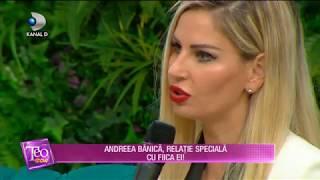 Teo Show (05.04.2018) - Andreea Banica si-a extirpat alunita de pe fata! Partea 4