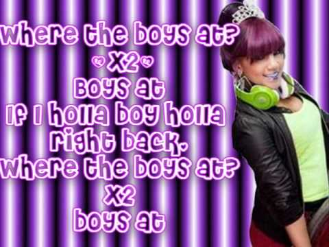 "OMG Girlz- ""Where The Boys At?"" Lyrics"