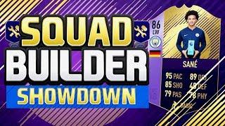 FIFA 18 Squad Builder Showdown!! - POTM LEROY SANÉ - FIFA 18 Ultimate Team