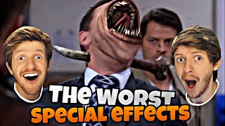 THE WORLDS FUNNIEST SPECIAL EFFECTS IN FILMS!