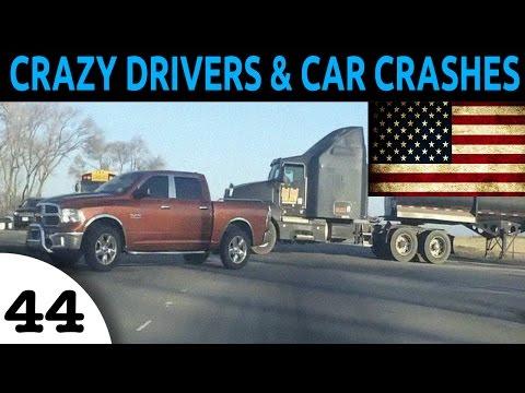 watch Crazy Drivers & Car Crash Compilation USA Episode 44