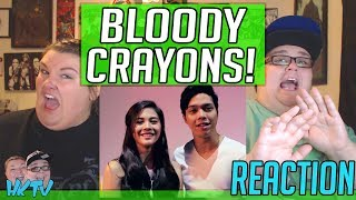 Bloody Crayons | TEASER TRAILER REACTION!! 🔥
