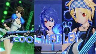 Cool Medley KAITO MEIKO LEN ~Cyber Rock Jam~ Project DIVA X Cover