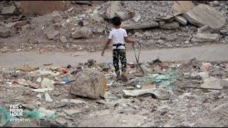 Struggling to survive in the rubble of Yemen