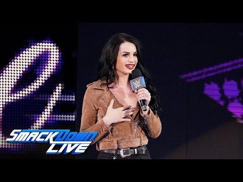 Xxx Mp4 Paige Introduces The Team Of Asuka Amp Kairi Sane SmackDown LIVE April 16 2019 3gp Sex