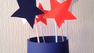 Make a 4th of July Party Hat - DIY Crafts - Guidecentral