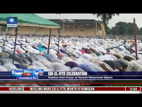 Lagos Muslims Join In Praying For Peace, Unity Of Nigeria