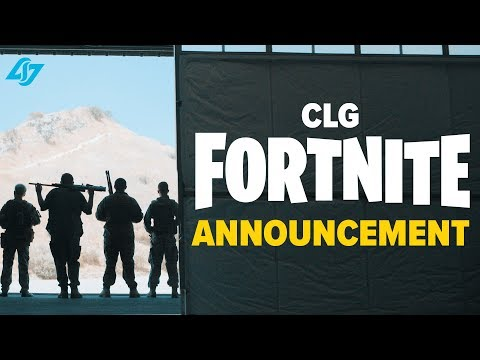 Xxx Mp4 Best Fortnite Announcement Ever CLG Enters Fortnite 3gp Sex