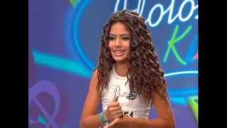 Idolos Kids: Temp 02 - Episodio 3 - Graciely Junqueira deixa jurados encantados com beleza e talento