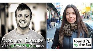 Vitamin D research & disease with Rhonda Patrick Phd - Podcast 94