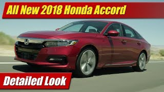 All New 2018 Honda Accord: Detailed Look