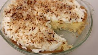Coconut Cream Pie Recipe - Laura Vitale - Laura in the Kitchen Episode 447