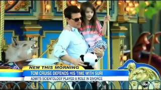 Tom Cruise Admits Katie Holmes Left Him To Protect Suri From Scientology