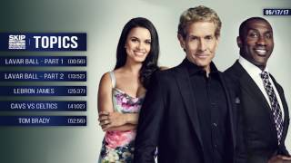 UNDISPUTED Audio Podcast (5.17.17) with Skip Bayless, Shannon Sharpe, Joy Taylor   UNDISPUTED
