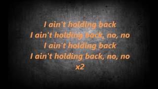 hardwell no holding back ft craig david lyrisc