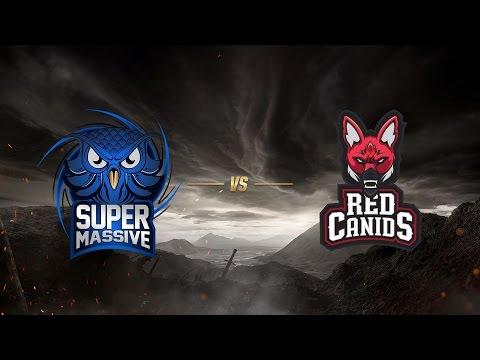 SuperMassive eSports ( SUP ) vs Red Canids ( RED )   MSI 2017 Ön Eleme 1. Gün