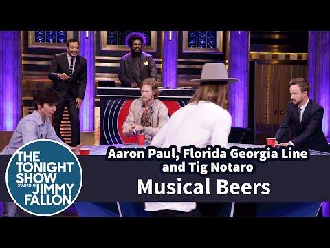 Musical Beers with Aaron Paul, Florida Georgia Line and Tig Notaro