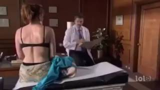 Doctor ask her to get naked