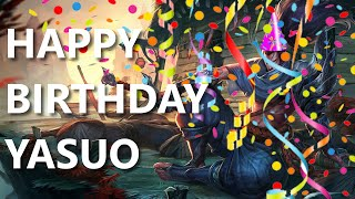 HAPPY BIRTHDAY YASUO