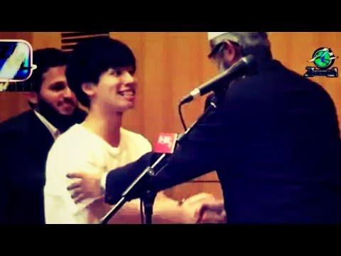 Young Japanese Man Accepts Islam - Dr Zakir Naik - Japan Tour 2015