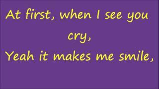 Glee Smile with lyrics
